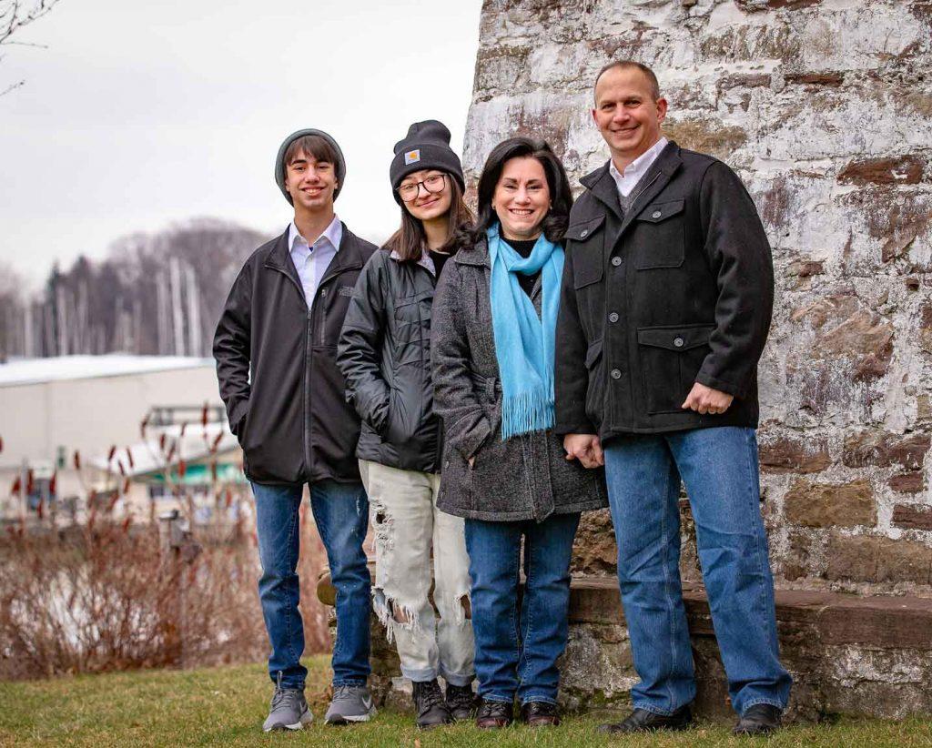 Maria Vecchio and Family